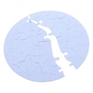 PUZZLE REDONDO 20 X 20 CM PARA SUBLIMAR PR2020-41