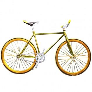 Bicicleta fixie colores metalicos