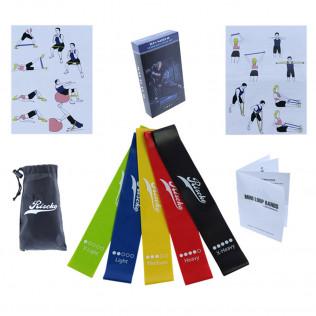 Pack de Cintas Elásticas para Fitness y Pilates