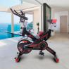 Bicicleta spining con volante de inercia 24 kg gh706-d33