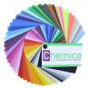 Muestrario de colores vinilo tránsfer textil Chemica Hotmark
