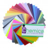 Muestrario de colores vinilo tránsfer textil Chemica Sunmark - Bling-Bling - Galaxy y Confetti