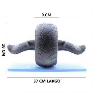 Rueda abdominal King Ab Carver Wheel con esterilla antideslizante incluida