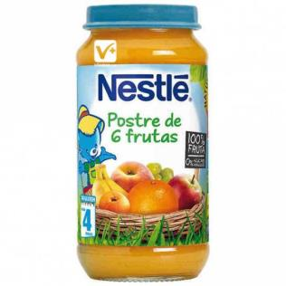 Potito Nestle Postre 6fruta 250g