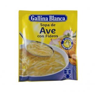Sopa G.Blanca std. Ave/Fideos 85gr