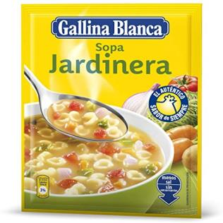 Sopa G.Blanca std Jardinera 77g