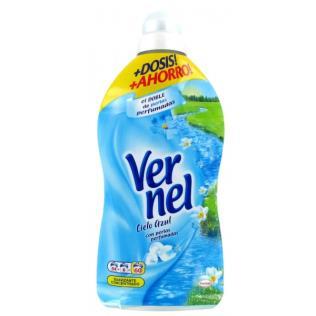 Suavizante Vernel Azul 1.25l 54lav +3