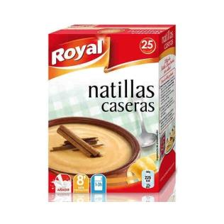Natillas royal caseras 100gr