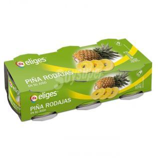 Piña su jugo eliges P3u p.e 411 g