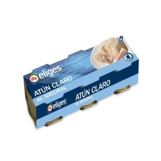 Atún claro eliges natural p-3 168g