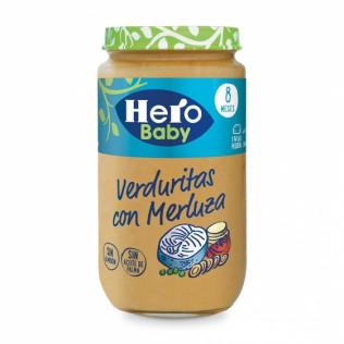 Potito Hero Baby Merluz/Verd 235gr