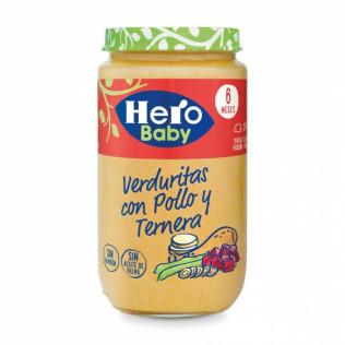 Potito Hero Baby Pol/Tern/Verd 235gr