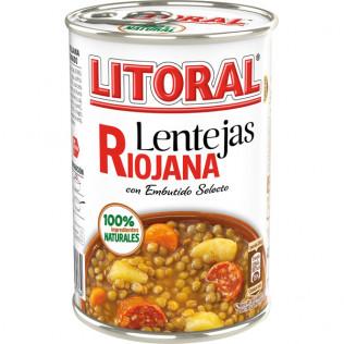 Lentejas Litoral Riojana 425G