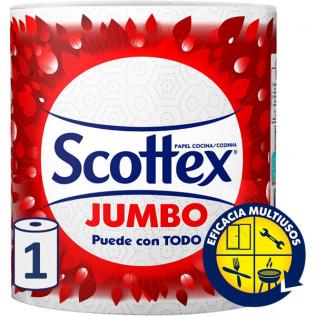 PAPEL COCINA SCOTTEX JUMBO 1u