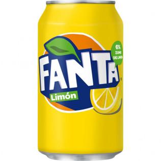 Fanta limón lata 33 cl