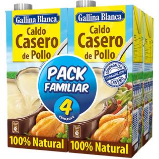 Caldo G.Blanca Pollo pack 4u