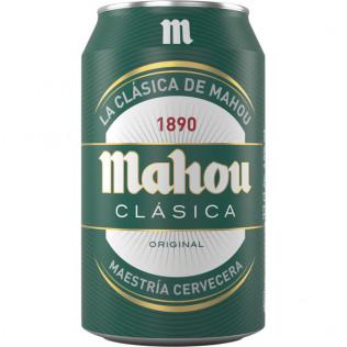 CERVEZA MAHOU CLASICA LATA 33cl
