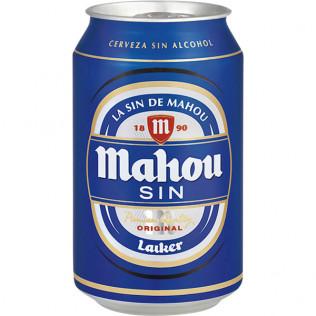 Cerveza mahou sin lata 33 cl