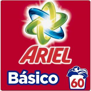 Ariel Básico Det. En Polvo Económico 3,9kg 60Lavados