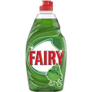 Fairy Ultra Líq. Lav. Verde Osc. Sin Remojo Ni Grasa 480ml