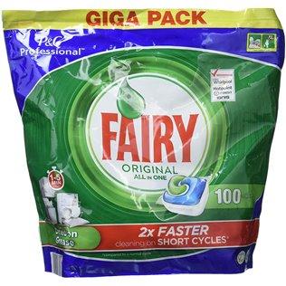 Fairy Original Todo En 1 Cápsulas De Lavavajillas Pack De 100Unidades