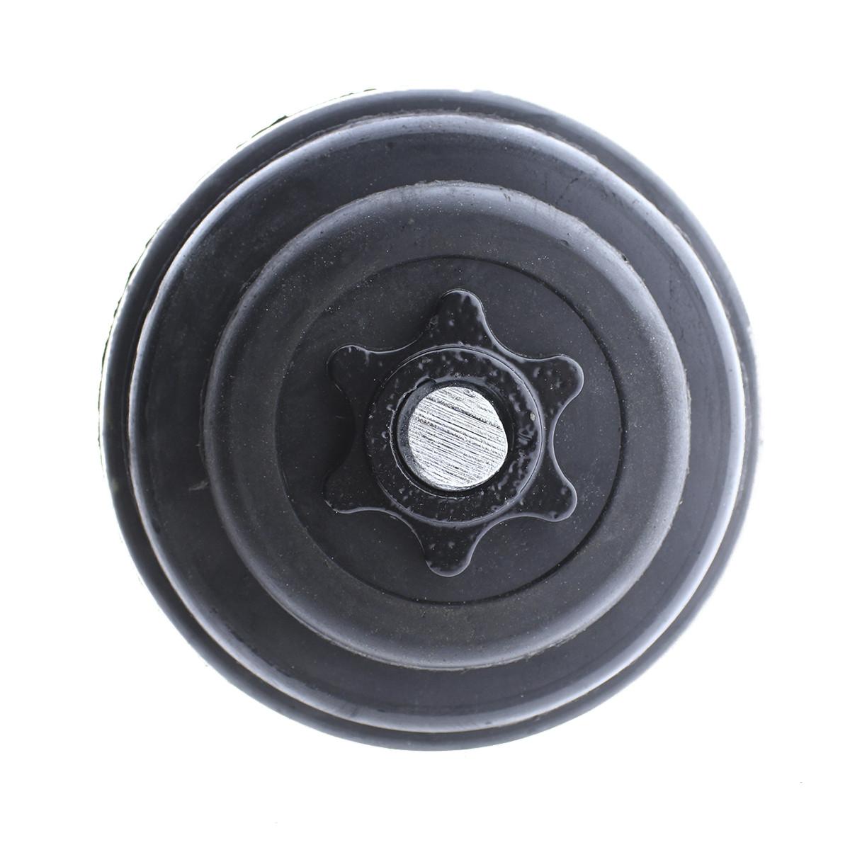 Set-de-mancuernas-ajustables-Negras-con-discos-de-Goma-10kg-12kg-15kg-20-k miniatura 16