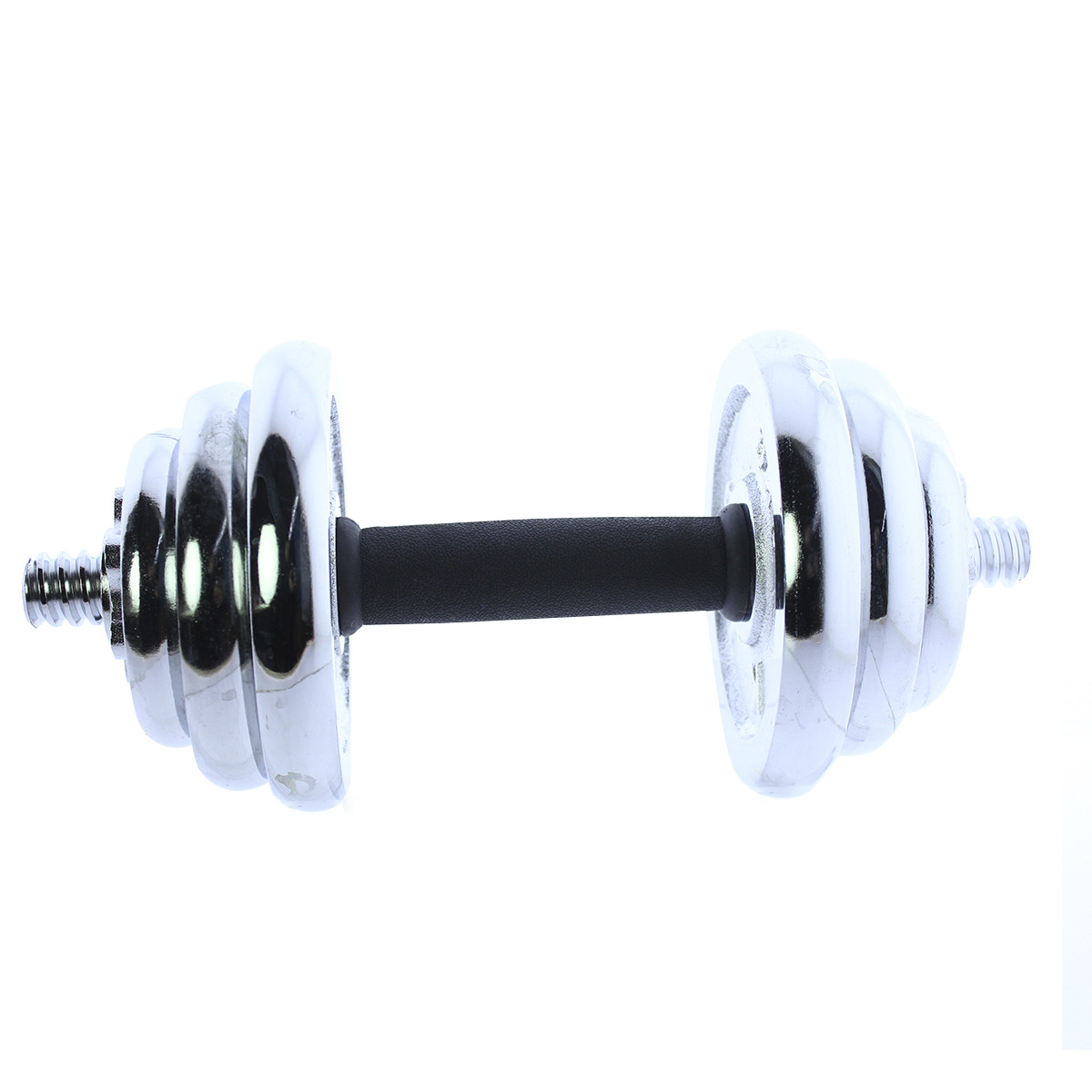 Set-de-mancuernas-ajustables-cromadas-10kg-15kg-20kg-Riscko miniatura 13