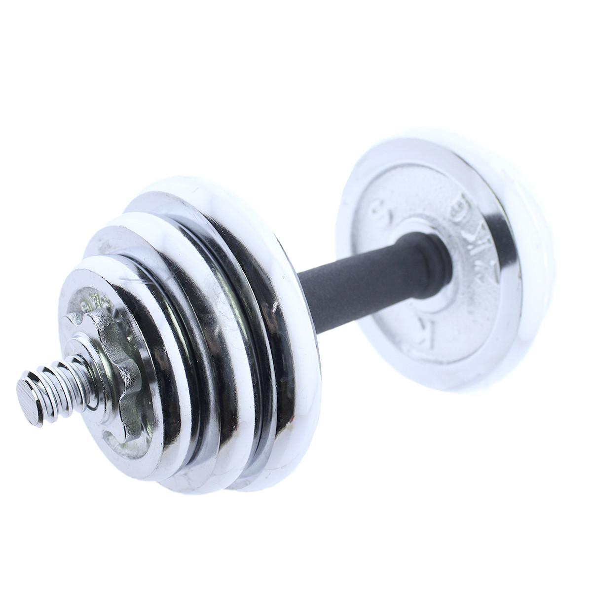 Set-de-mancuernas-ajustables-cromadas-10kg-15kg-20kg-Riscko miniatura 17