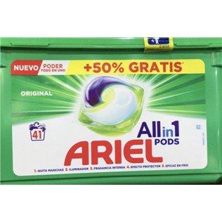 Ariel 3en1 Pods Original Detergente En Cápsulas 41Lavados
