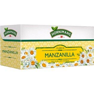 Manzanilla Hornimans estuche 25 bolsitas