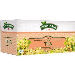 Tila Hornimans estuche de 25 bolsitas