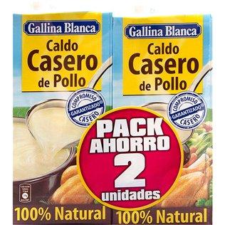 Caldo G.B Pollo 100%Nat 1L P-2U
