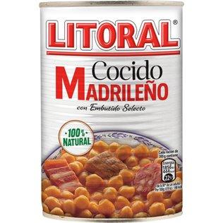 Cocido Litoral 440gr Lata
