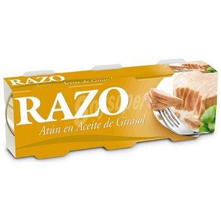 Atún Razo Aceite pack-3 156gr