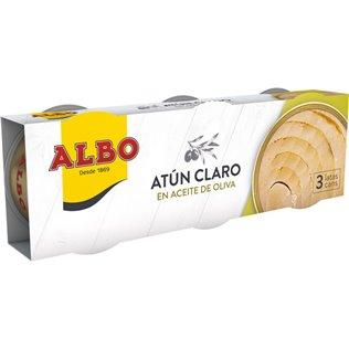 ATUN ACEITE ALBO PACK-3 201G.