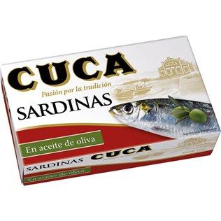 SARDINA CUCA ACEITE OLIVA 85 gpe