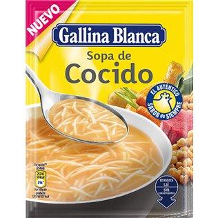 SOPA G.BLANCA STD.COCIDO 72g