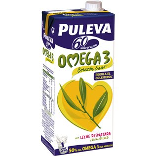 LECHE PULEVA OMEGA3 DESNATADA 1L
