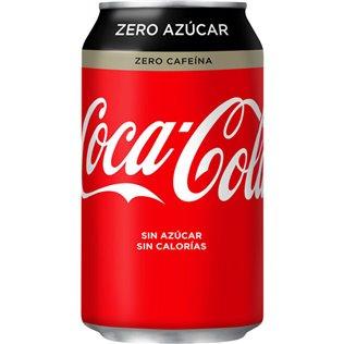 COCA COLA ZERO ZERO 0.33