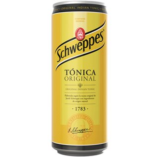 TONICA SCHWEPPES SLEEK 33c
