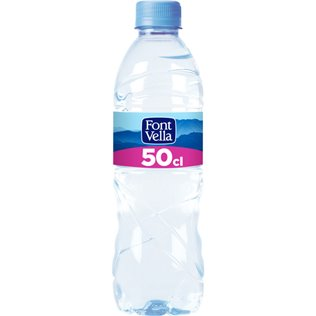 AGUA FONTVELLA 50cl