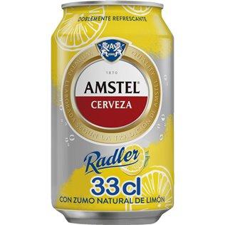 CERVEZA AMSTEL RADLER LATA 33cl