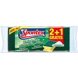 ESTROPAJO SALVAUÑAS SPONTEX 2+2