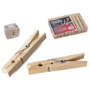 Set pinzas d etender x20 – madera