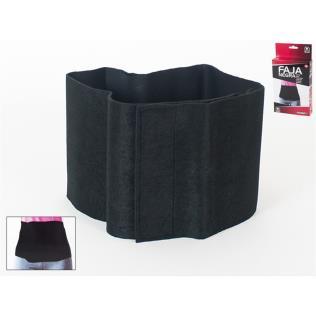 Faja negra talla M 100x17.5 cm