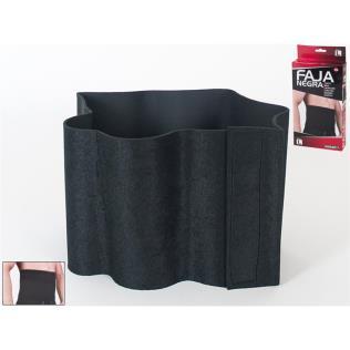 Faja negra ttalla L 120x23.5 cm