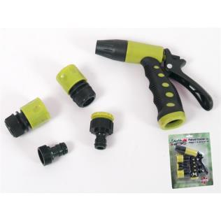 Pulverizador de riego + 4 accesorios