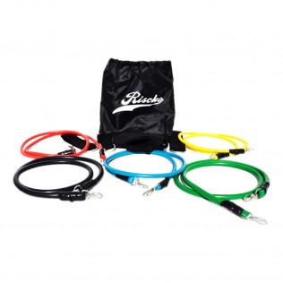 Kit elasticos para entrenamiento riscko