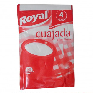 Cuajada royal sobre 24 gr