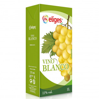 VINO ELIGES BLANCO BRICK 1L..